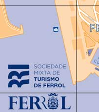 Mapa Turistico Ferrol