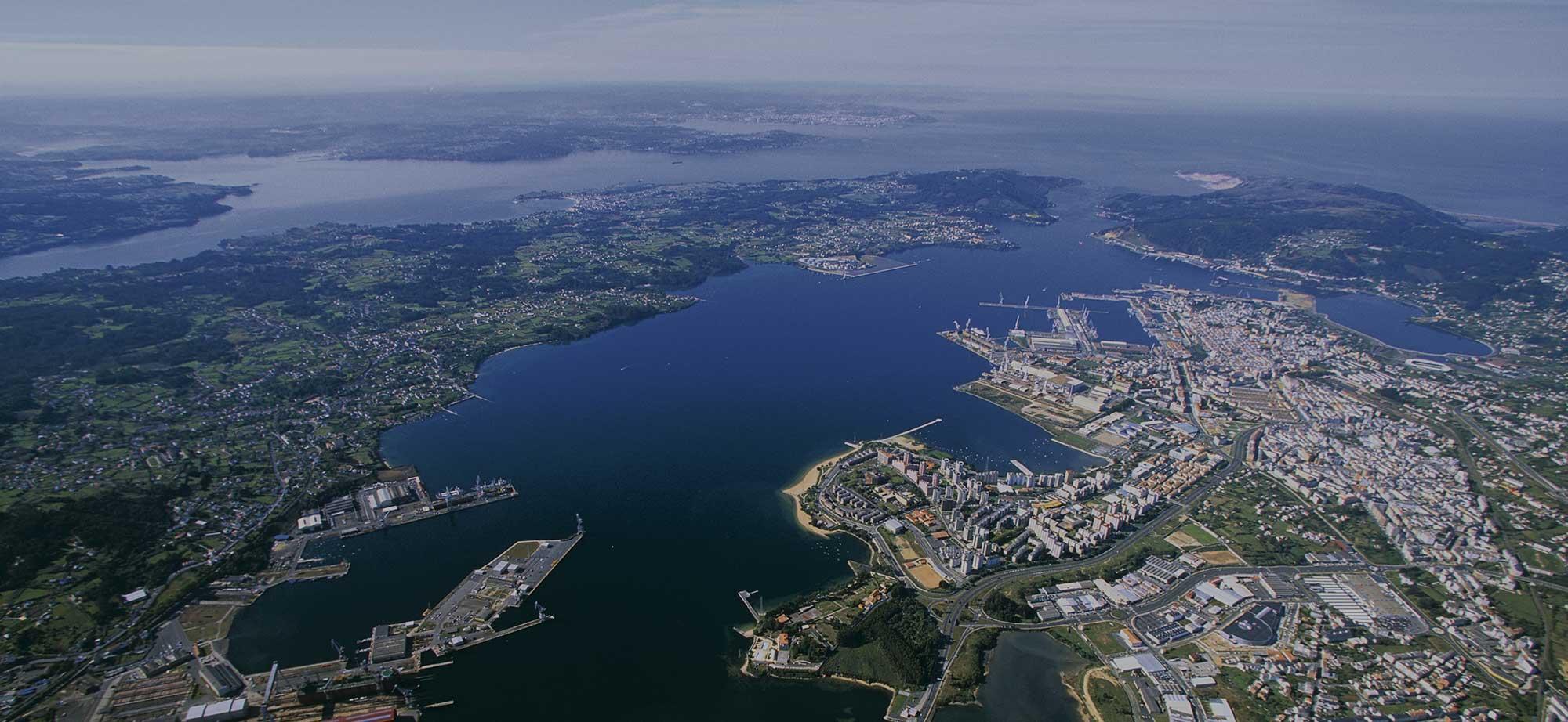 Situación Geográfica Ferrol