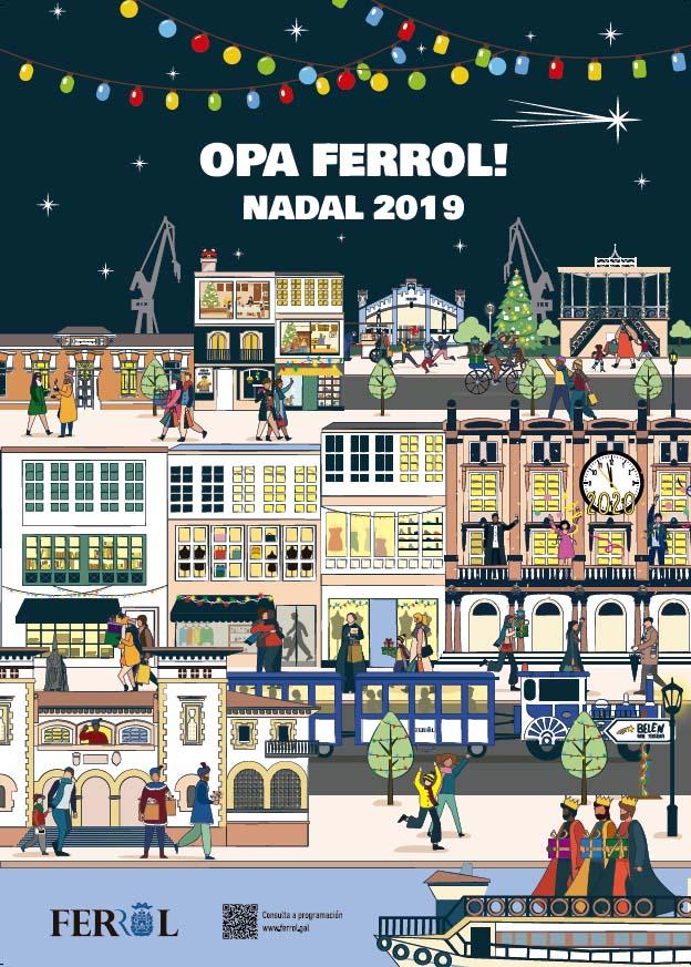 Cartaz Nadal Ferrol 2019